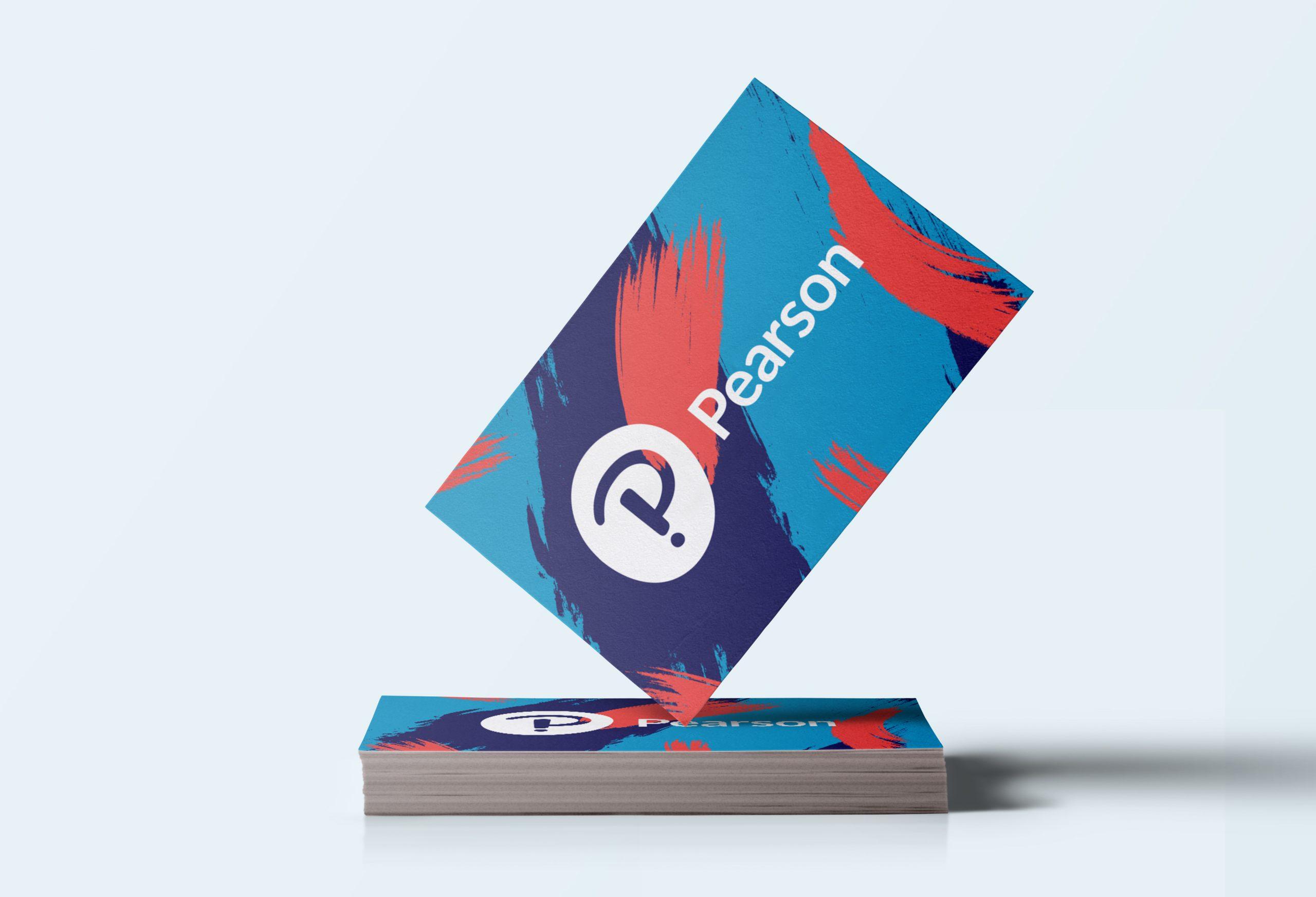 PearsonLogoBusinessCard01