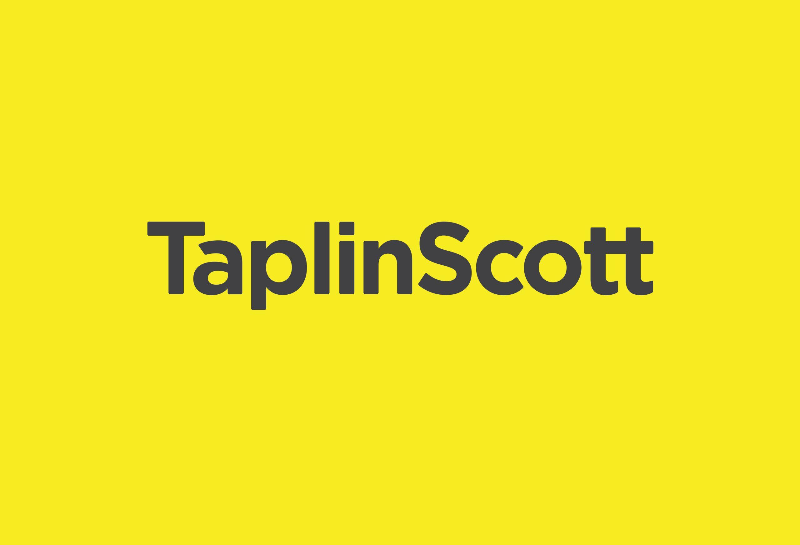 TaplinScottLogoYellow01